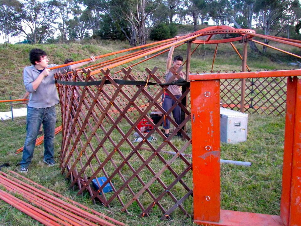 Building A Yurt From Scratch Resources Milkwood Permaculture