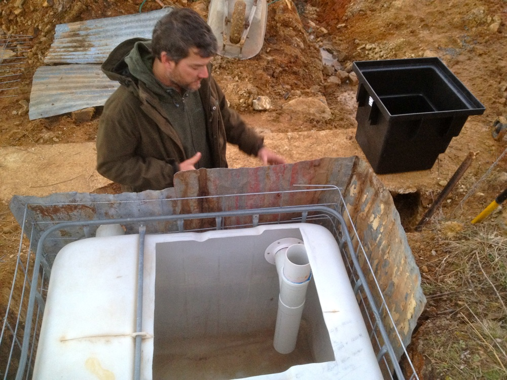 Building A Biological Diy Greywater System With No Reedbeds