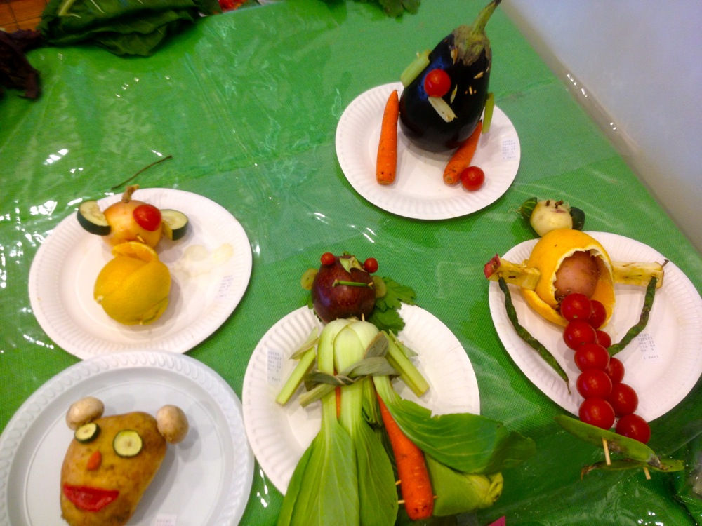 The rest of the Vegetable Character entrants