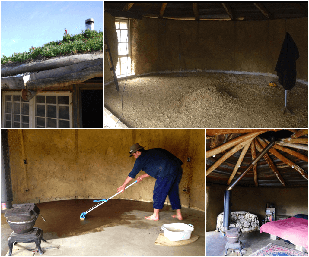 Making A Diy Earthen Floor Two Methods Milkwood Permaculture