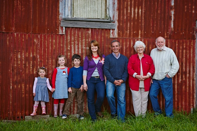 The sixth, fifth and fourth generation of Buena Vista Farmers