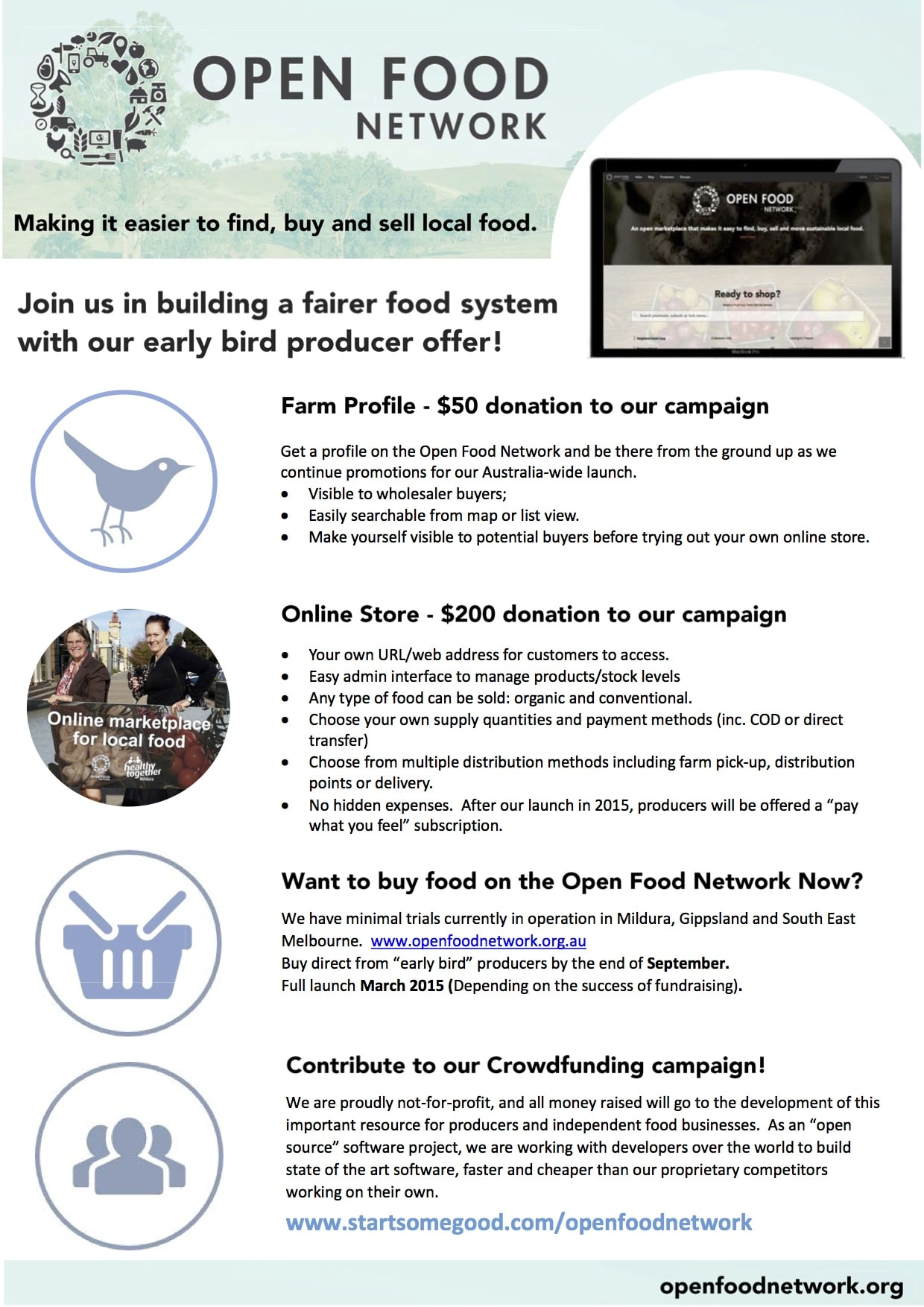Farmer Open Food Network Flier p1